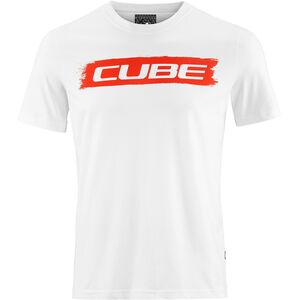 Cube Logo 2.0 T-Shirt Herren white