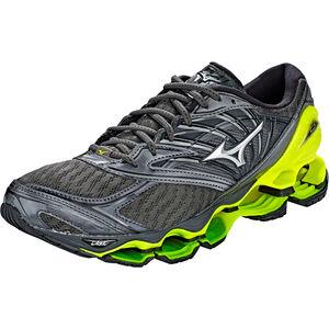Mizuno Wave Prophecy 8 Shoes Herren dark shadow/silver/safety yellow dark shadow/silver/safety yellow