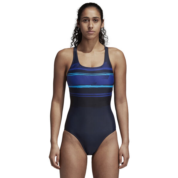 adidas Placed Print Swimsuit Damen