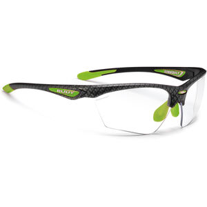 Rudy Project Stratofly Glasses carbonium green/photoclear carbonium green/photoclear