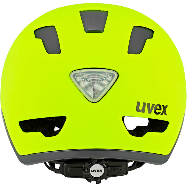 UVEX City 9 Helm neon yellow