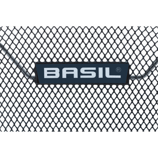 Basil Lesto Hinterradkorb black