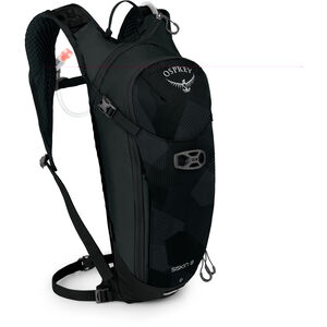 Osprey Siskin 8 Hydration Backpack Herren obsidian black obsidian black