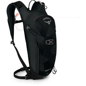 Osprey Siskin 8 Hydration Backpack Obsidian Black