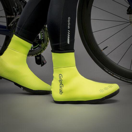 GripGrab Arctic Waterproof Hi-Vis Thermal Shoe Covers bei fahrrad.de Online