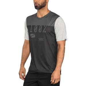 100% Airmatic Enduro/Trail Jersey Men Black/Charcoal