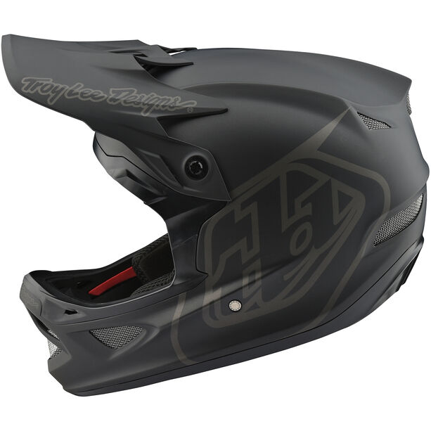 Troy Lee Designs D3 Fiberlite Mono Helmet black