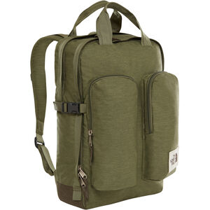 The North Face Mini Crevasse Backpack four leaf clover dark heather/new taupe green dark heath four leaf clover dark heather/new taupe green dark heath