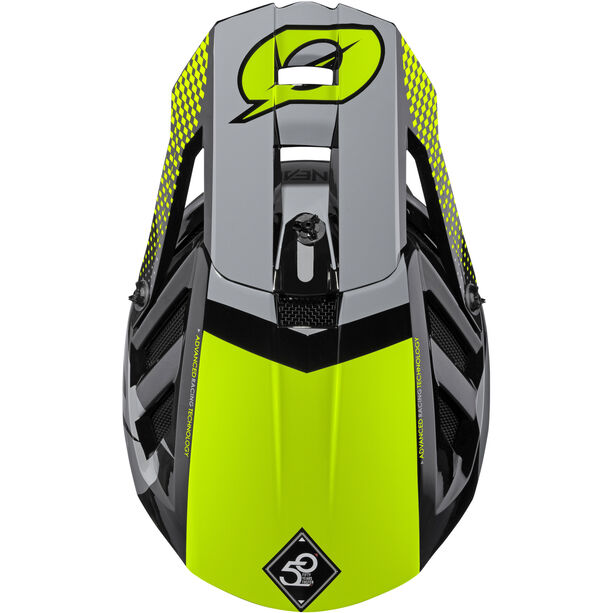O'Neal Blade Polyacrylite Helm Ace black/neon yellow/gray