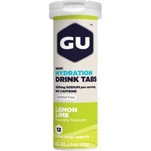 GU Energy Hydration Drink Tabs Lemon Lime 12 Stück bei fahrrad.de Online