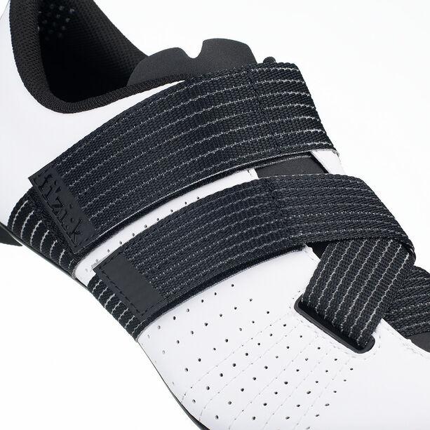 Fizik Tempo Powerstrap R5 Rennradschuhe weiß/schwarz
