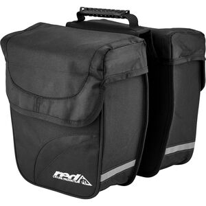 Red Cycling Products Double City Bag Gepäckträgertasche schwarz