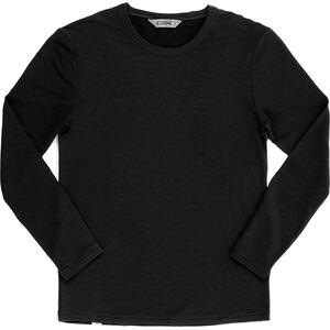 Chrome Merino MW Langarm T-Shirt Herren black black