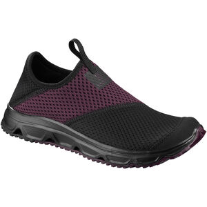 Salomon RX Moc 4.0 Schuhe Damen black/black/potent purple black/black/potent purple