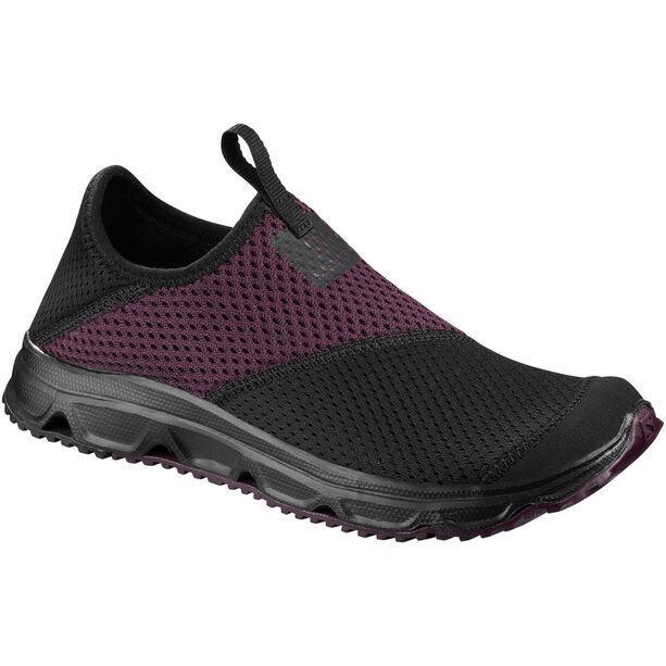 Salomon RX Moc 4.0 Schuhe Damen black/black/potent purple
