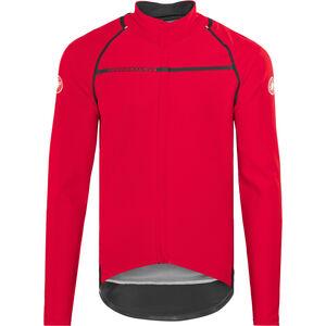 Castelli Perfetto Convertible Jacket Men red