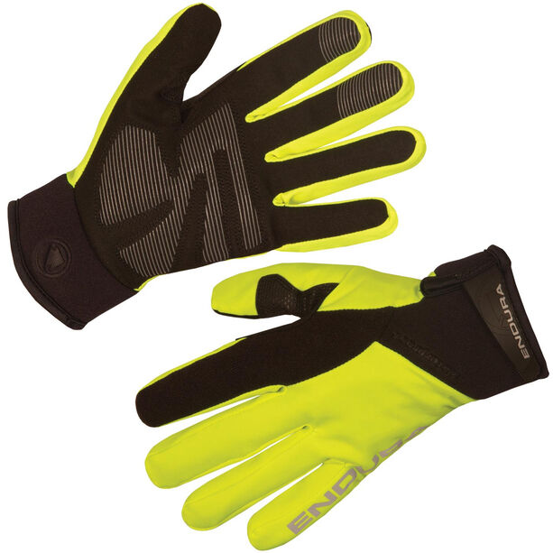 Endura Strike II Handschuhe Damen neon-gelb