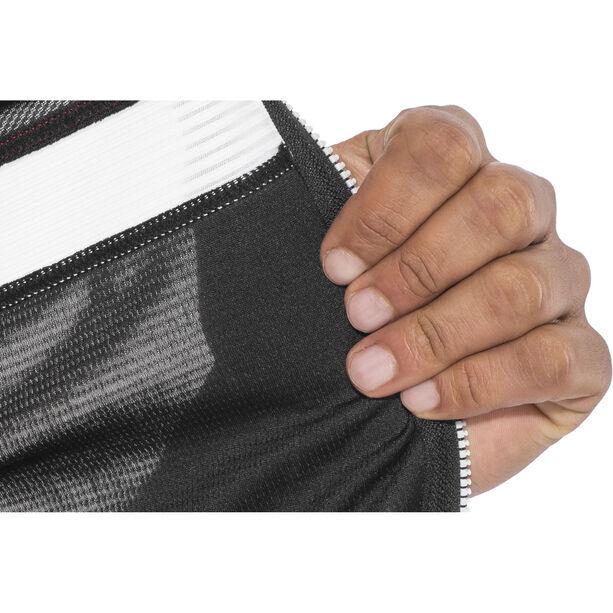 Sportful Pista Sleeveless Jersey Herren black/white-red