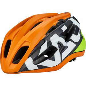 Kali Therapy Helm matt neon orange/gelb