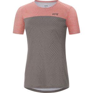 GORE WEAR R3 Optiline Shirts Women terra grey/lumi melange bei fahrrad.de Online