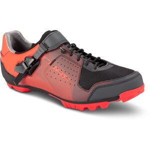 Cube MTB Peak Pro Shoes red