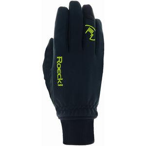 Roeckl Rax Handschuhe black/yellow black/yellow
