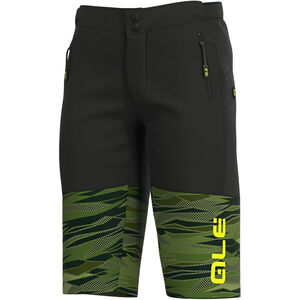 Alé Cycling Off-Road MTB Rock Shorts Herren green/fluo yellow green/fluo yellow