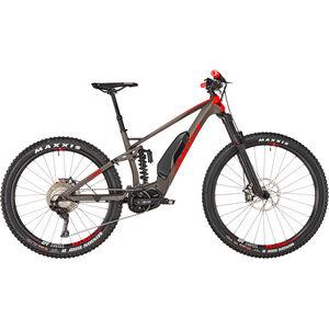 "Ghost Hybride SL AMR S 6.7+ LC 29/27,5+"" titanium gray/riot red/star white bei fahrrad.de Online"
