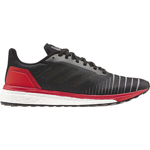 adidas SolarDrive Running Shoes Men Core Black/Core Black/Hi-Res Red bei fahrrad.de Online