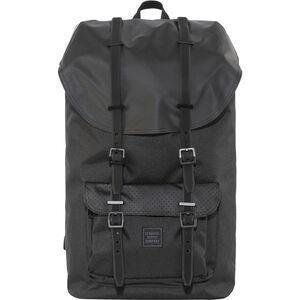 Herschel Little America Backpack black/black rubber black/black rubber