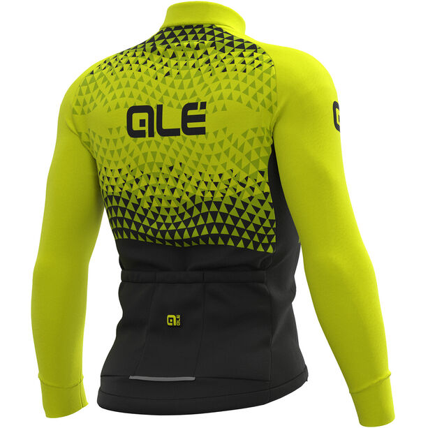 Alé Cycling Solid Summit Jersey Herren black-fluo yellow