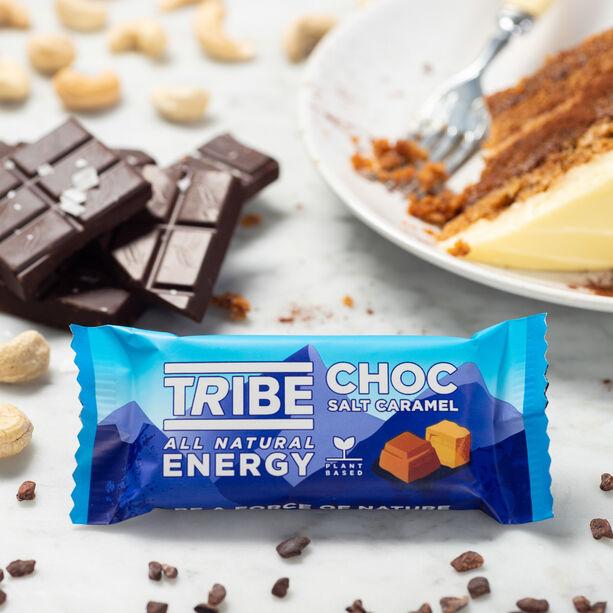 TRIBE Infinity Energy Oat Bar Box 16x50g choc salt caramel
