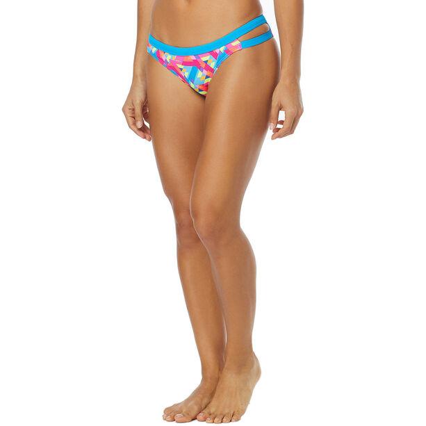 TYR Le Reve Cove Bikini Bottom Damen pink/turquoise