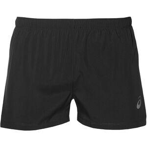 asics Silver Split Shorts Herren performance black