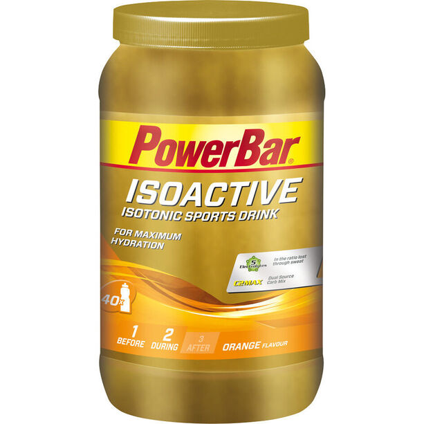 PowerBar Isoactive Isotonic Sports Drink Dose 1320g Orange
