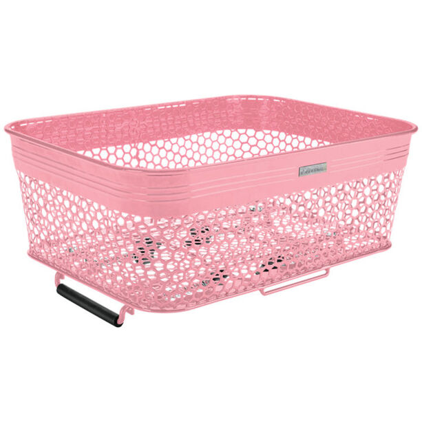 Electra Linear QR Mesh Basket Low Profile with Net light pink