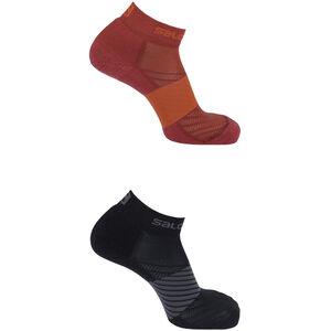 Salomon XA Socks 2 Pack Biking Red/Forged Iron