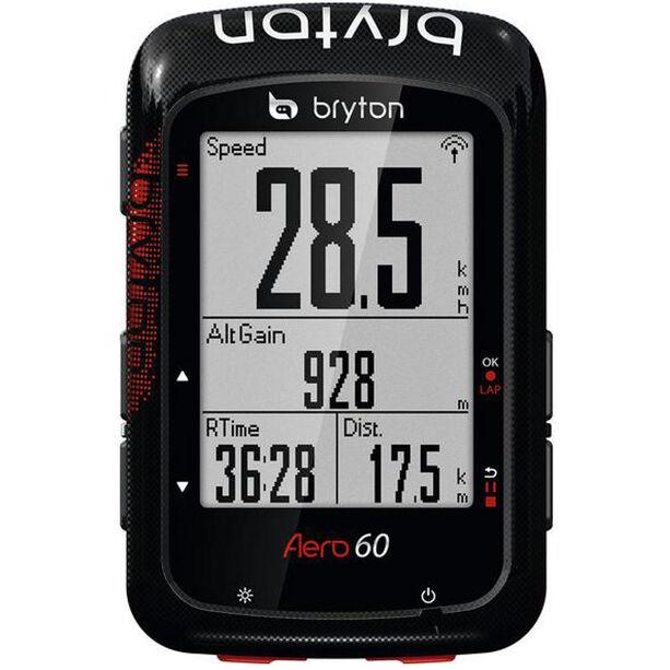Bryton Aero 60 Fahrradcomputer schwarz