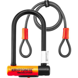 Kryptonite Evolution Mini-7 Fahrradschloss + Kryptoflex
