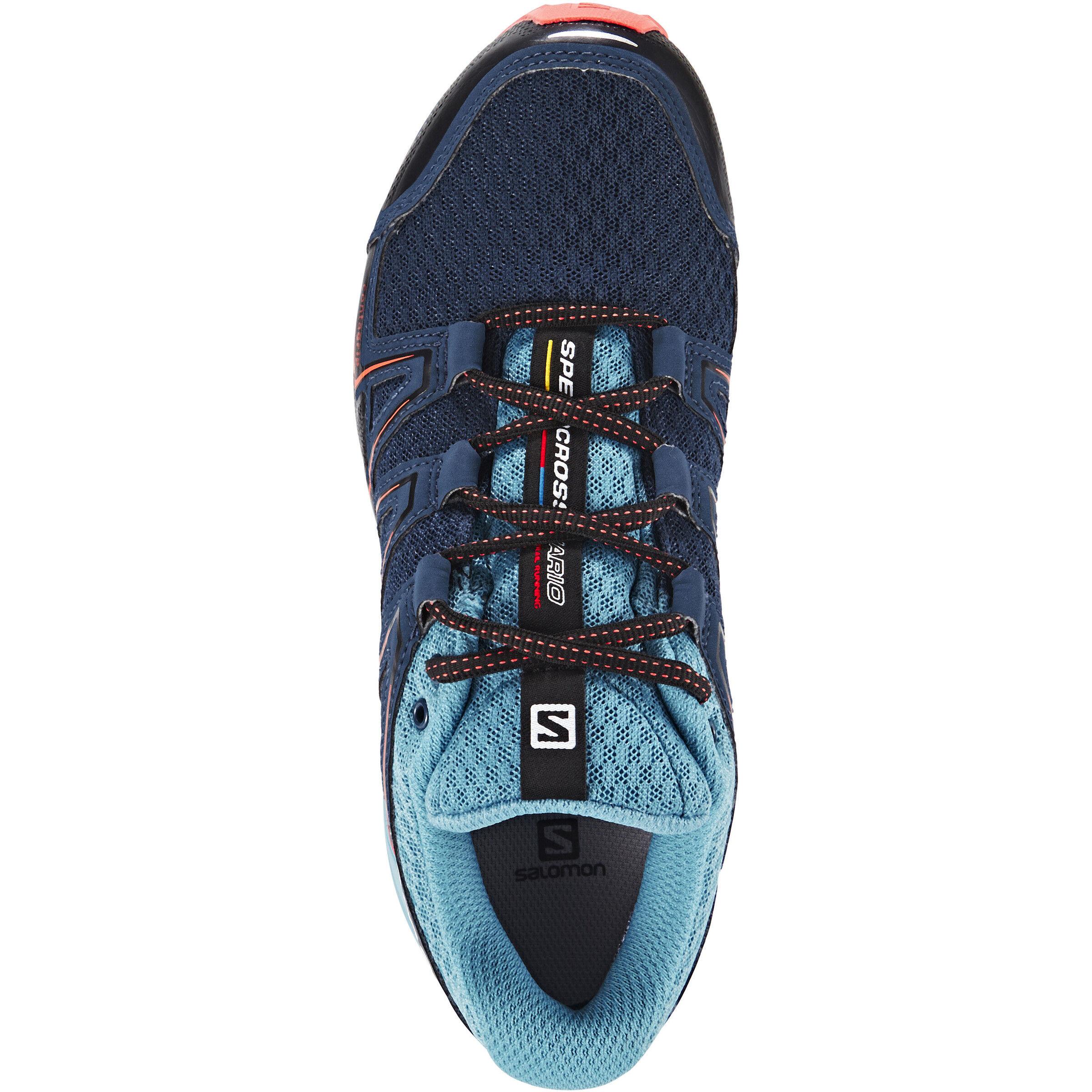 Salomon Speedcross Vario GTX Trailrunning Shoes Damen slateblueblue gumcoral punch