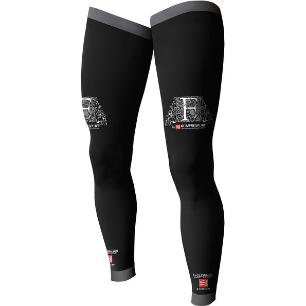 Compressport Full Leg Sleeves black