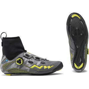 Northwave Flash Arctic GTX Road Shoes Herren reflective/yellow fluo reflective/yellow fluo