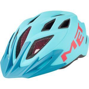 MET Crackerjack Helm Kinder light blue/magenta light blue/magenta