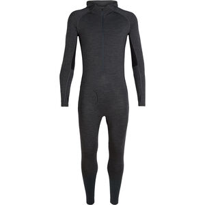 Icebreaker 200 Zone One Sheep Suit Herren jet heather/black jet heather/black