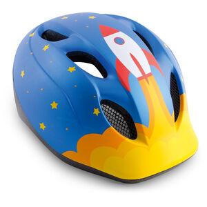 MET Superbuddy Helm Kinder blue rocket blue rocket