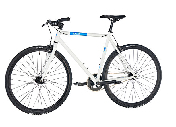 FIXIE Inc. Floater white blue