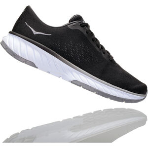 Hoka One One Cavu 2 Running Shoes Damen black/white black/white