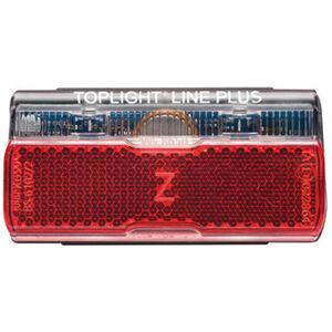 Busch + Müller Toplight Line + BrakeTec Bremslicht mit Standlicht 80mm schwarz/rot schwarz/rot