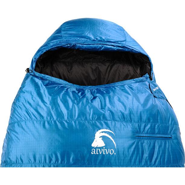 Alvivo Ibex 500 S Sleeping Bag türkis/schwarz