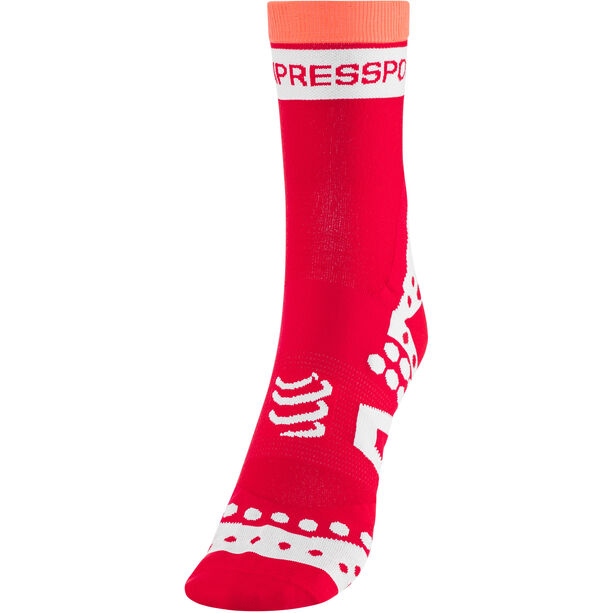 Compressport Pro Racing Ultralight Bike High Socks red